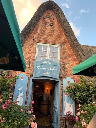 Der Eingang des Restaurants
