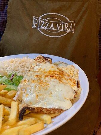 Guzelyurt, Chipre: Pizza Vira