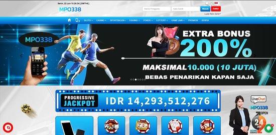 Situs Bandar Judi Mpo Slot Online Terpercaya Bonus Jackpot Terbesar Mpo338 Bilde Av Indonesia I Asia Tripadvisor
