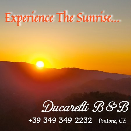 Come live and experience a most amazing sunrise!