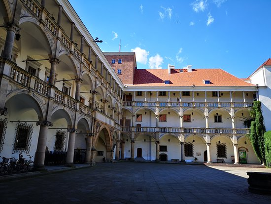 Brzeg, Polen: The Castle of the Silesian Piasts