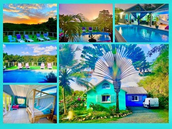 Chambres et table d'hotes Chez Adé GUADELOUPE, hôtels à Grande-Terre Island