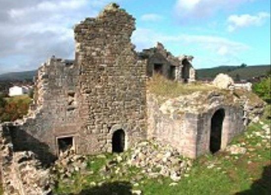 Sanquhar, UK: Sanquar Castle