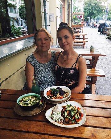 @myberlinfashion: yesterday we had a wonderful dinner at @chaylong.berlin - an all vegan restaurant in Prenzlauer Berg