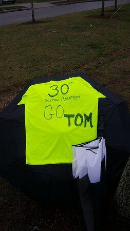 East Machias, ME: The reason we open after the Boston Marathon