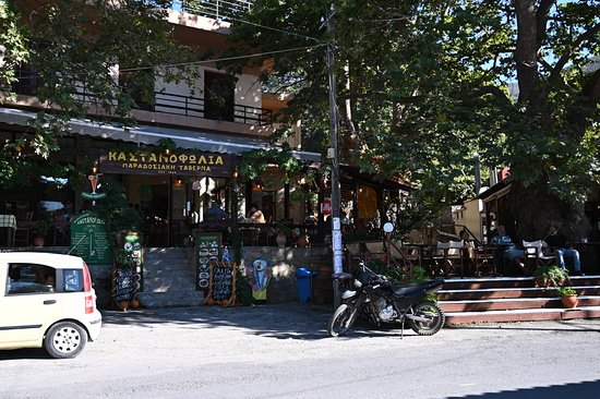 Elafonissi small Group tour: Taverne in Elos