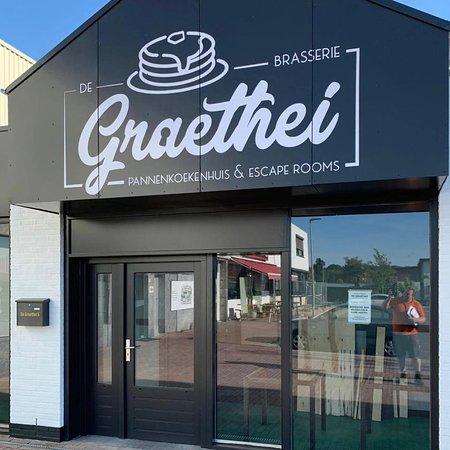 De Graethei Brasserie, pannenkoekenhuis & escaperoom