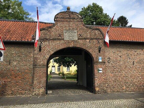 Der historische Ortskern von Linn