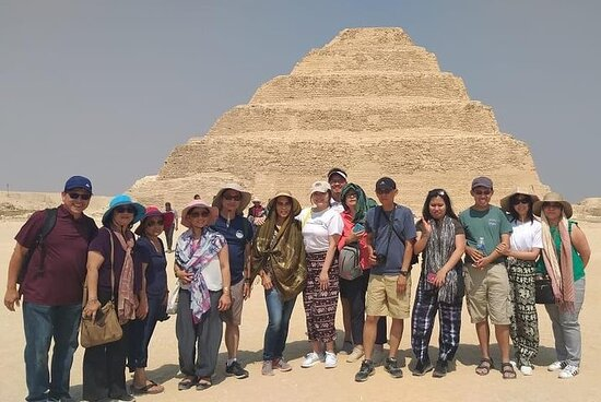 5 nettsteder: Giza-pyramider, Sphinx...