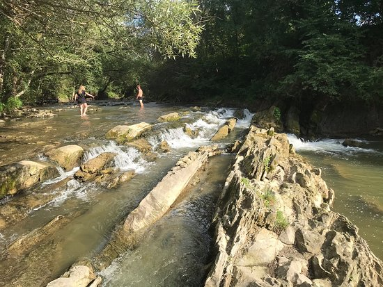Wodospad Uherce Mineralne