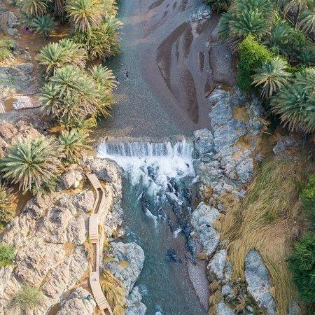 Ar Rustaq, Oman: شلال الحوقين