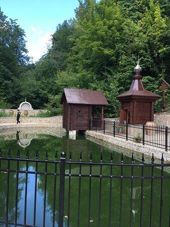 Usa-Stepanovka, Ryssland: Источник и купальня