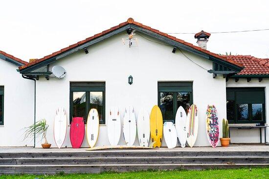 Santona, Španielsko: Escuela de surf