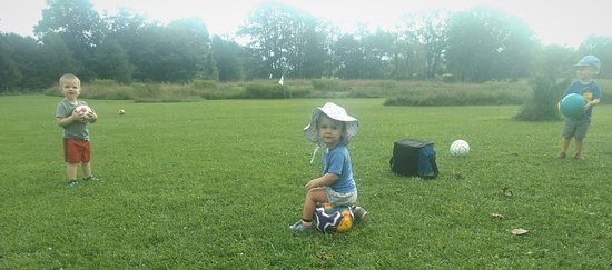 Canaan Valley, WV: Play hard or Chill? There is something for everyone at Chip Shots FootGolf!