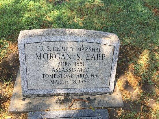 Morgan Earp Gravesite