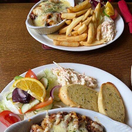 Proper grub in a proper pub...LOVED IT!!!!