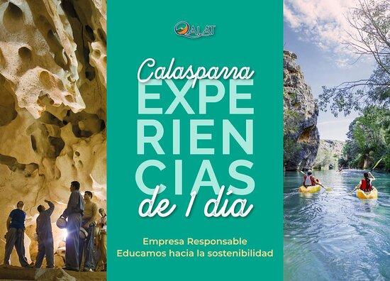 Calasparra, Ισπανία: Experiencia Cañón de Almadenes y Visita a la Cueva del Puerto
