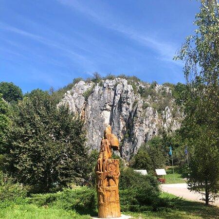 Aggteleki cseppkőbarlang bejárata