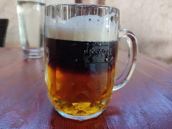 Krusovice, Csehország: Sehr gutes Bier