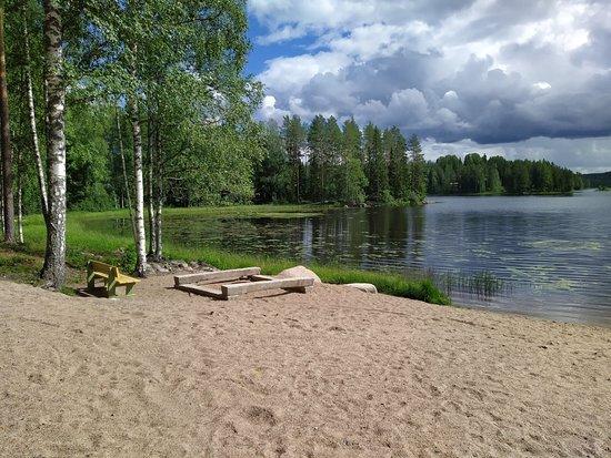 Ikaalinen, Finland: Vahon yleinen uimaranta