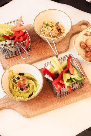 Snacks de verdures