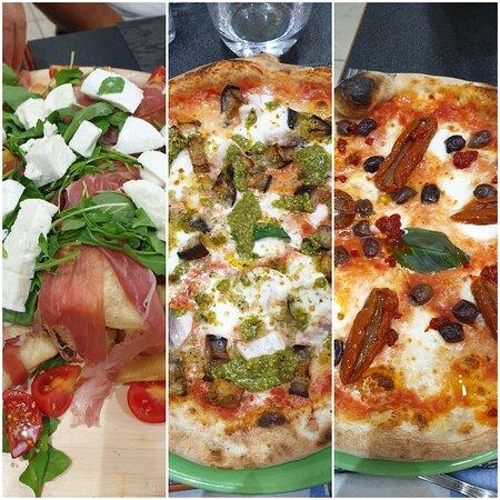 Pizza ottima e cortesia!
