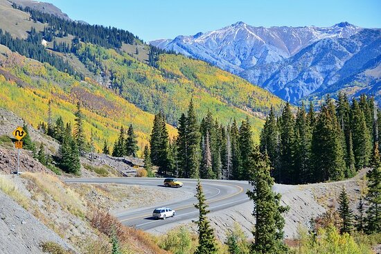 Smartphone Driving Tour between Boulder and Vail / Breckenridge