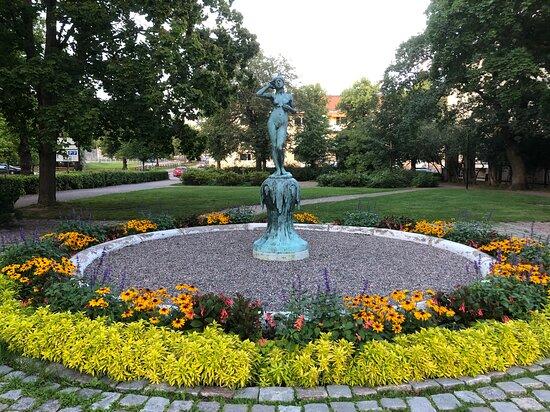Statyn ''snöklockan''