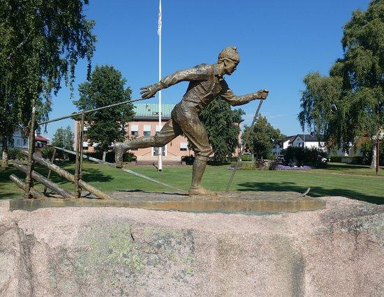 Statyn ''vasalöparen''