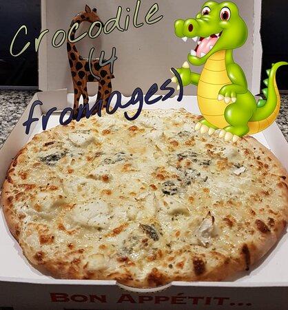 Provencheres-et-Colroy, Frankrijk: PIZZA 4 fromages