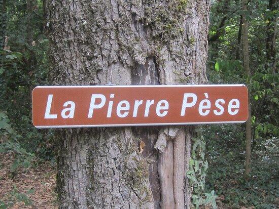 Dolmen De La Pierre Pèse