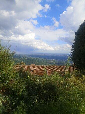 Calvenere panorama sulla pianura