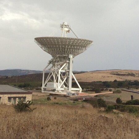 Province of Cagliari, Italie : Sardegna S Basilio il Radiotelescopio più grande d'Europa costruito nel 2013
