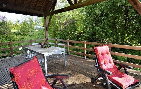 Louftemont, Belgique : le Liteau : a living space super appreciated by our guests (covered , South-South West)