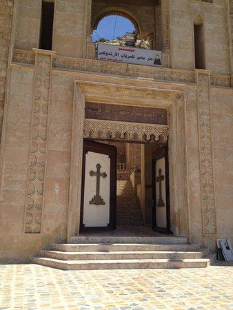 Mosul, Iraq: Gate of Mar Mattai Monastery!