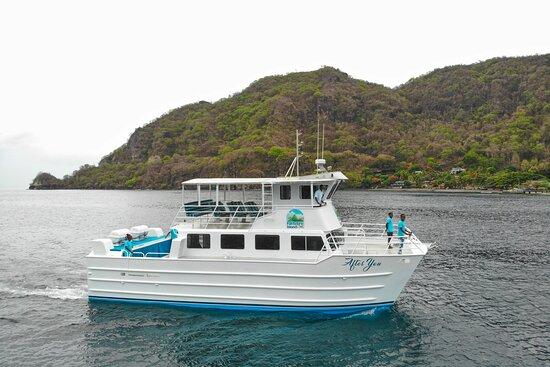 Foto de FunToSee Island Water Ferry, Sta. Lucía: Us :-) - Tripadvisor