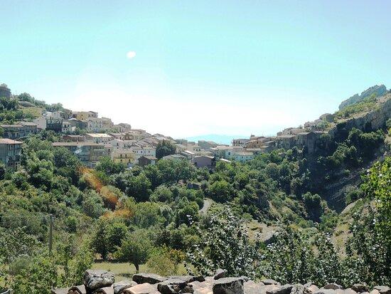 Roggiano Gravina, إيطاليا: Veduta di Cerchiara  