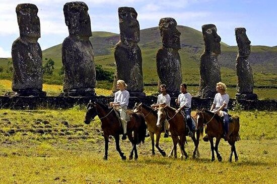 Horseback Riding on Easter Island