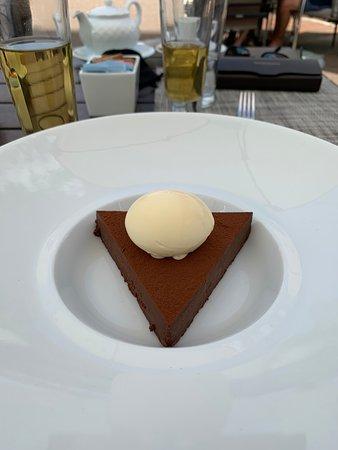 Flourless chocolate cake:-)