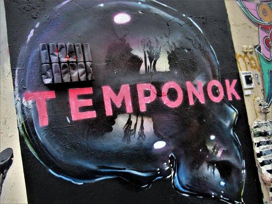 "Fresque ""crâne Translucide-02"""