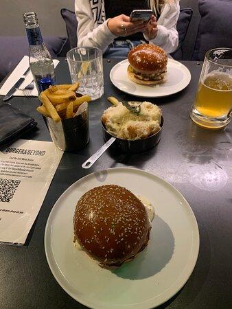 Bacon Butter Burger Picture Of Burger Beyond London Tripadvisor