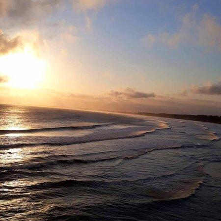 Barra de Guaratiba, RJ: Por do sol de tranquilidade