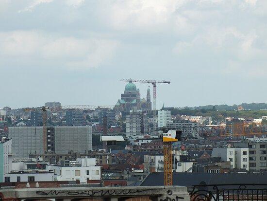 Koekelberg, Belgique : Katedra z punktu widokowego