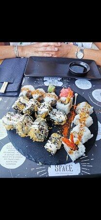 Phenomenal sushi & cocktails