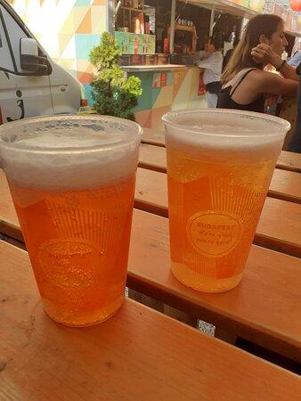 Beers at Street Food Karavan, Budapest #needtoseeitall