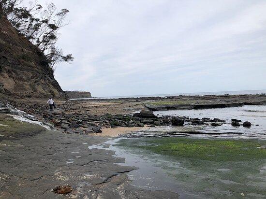 East Lynne, Australien: Some slippery spots