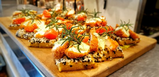 Bespoke savoury bites in our High Teas and catering platters.