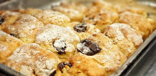 House made fruit scones - a vintage favourite.