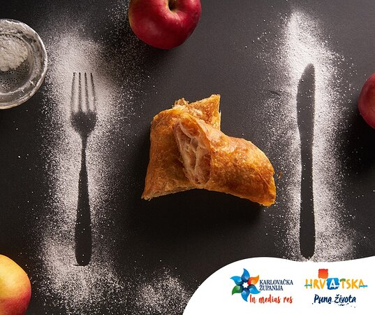 Štrudla is delicious dish for which is Karlovac county known for due to the Guinness record for the longest strudel which was broken in 2015. And during this weekend (until 13th of September) we have a Štrudlafest, which take place in restaurants all over county, so don't miss it!