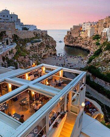 Terrazze Monachile - Panorama Restaurant al tramonto